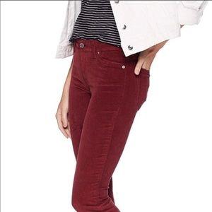Lucky Brand Brooke Skinny Corduroy Jeans - Sz 10